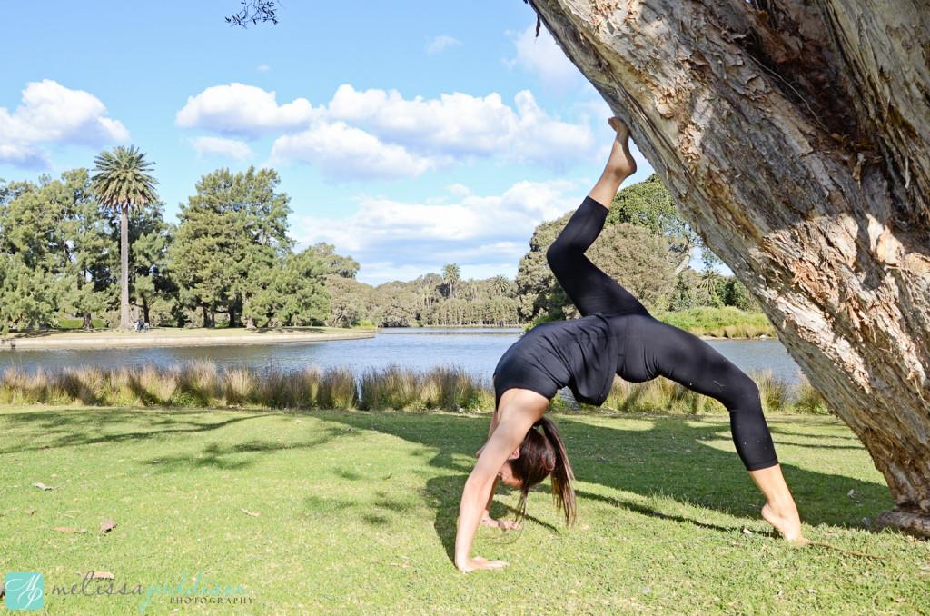 Mel Yoga in the Park
